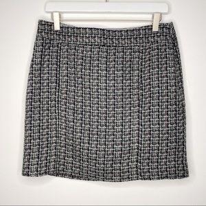 NWT LOFT Plaid Pencil Skirt W/Pockets | Size 4